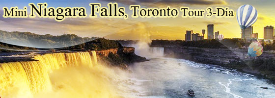 Mini Niagara Falls, Toronto Tour 3-D�as