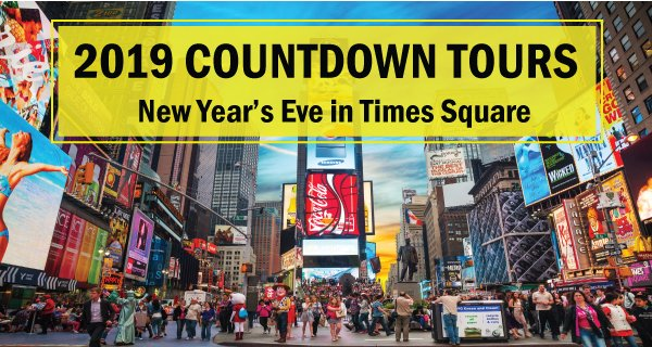 2019 Countdown Tours in Times Square - Up to 20% Off