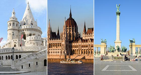 Budapest Sightseeing Tours from Prague