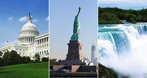 US East Coast Tours from Baltimore