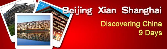 Beijing-Xian-Shanghai 9-Day Tour Package