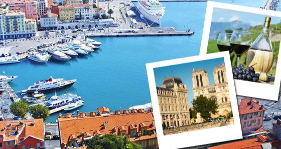 France Vacation Tours from Paris - Flexible Bus Tours in Europe
