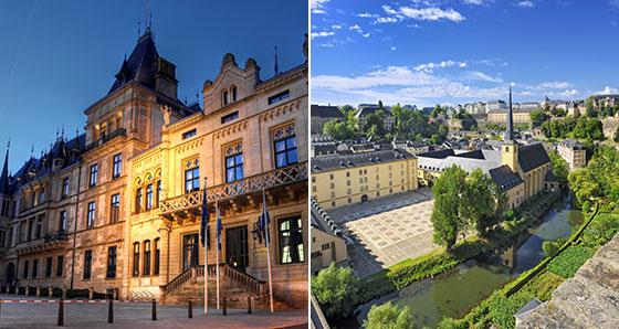 Sightseeing in Luxembourg & Paris