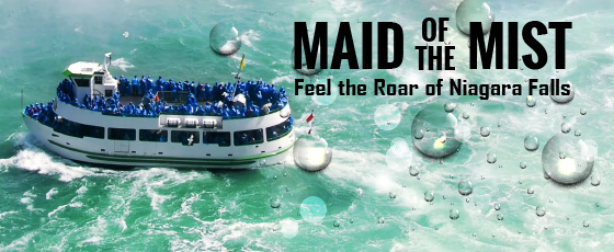 Ride the world famous Maid of the Mist!