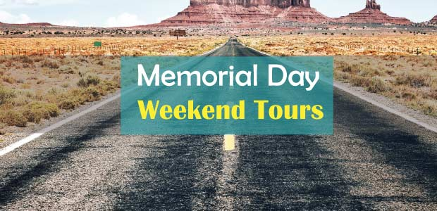 California Memorial Day Weekend Tours