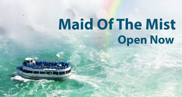 Niagara Falls & Ride the Maid of the Mist Tours