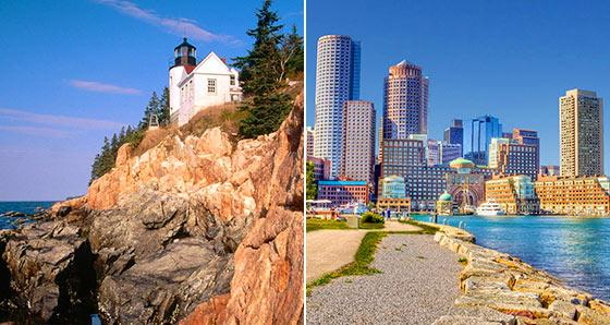 Acadia National Park Vacation Packages from Boston