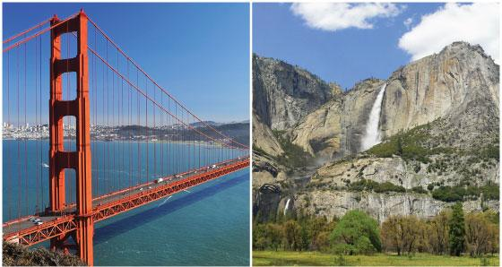 2-4 Day San Francisco & Yosemite Tours from Los Angeles