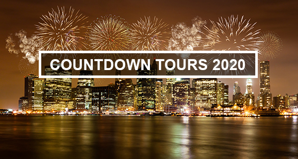 2020 Countdown Tours in Times Square NYC - early bird 20% off