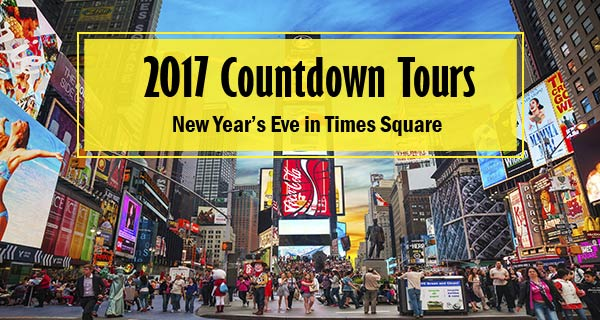 2017 Countdown Tours in Times Square
