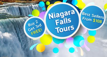 Niagara Falls 2-3 Day Tours from New York