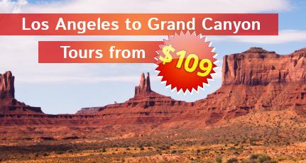 LA to Grand Canyon from $109