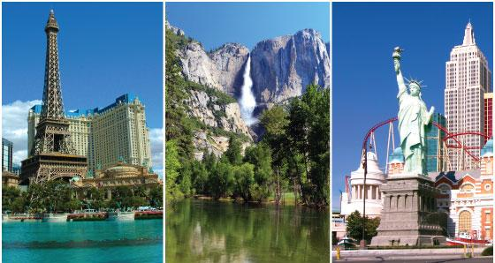 Las Vegas to Yosemite Tours