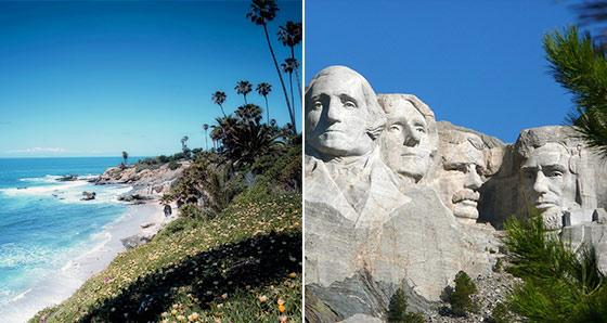Mount Rushmore Tours from Los Angeles