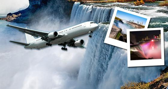 1-Day Niagara Falls Tour by Air from NY