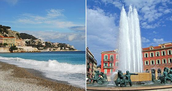 Nice Vacation Packages in France - Europe Bus Tours