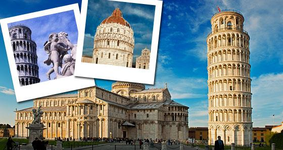 Pisa & European Vacation Packages