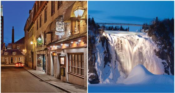 Trips to Quebec from Montreal
