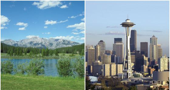 Rocky Mountain Vacation Packages from Seattle