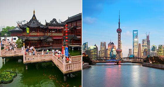 Shanghai Vacation Packages from Beijing