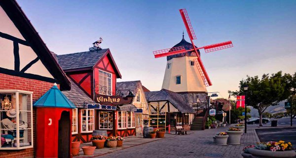 Solvang 2-4 Day Local Tours from Los Angeles