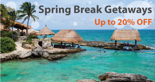 2017 Spring Break Tours and Vacations - Up to 20% Off