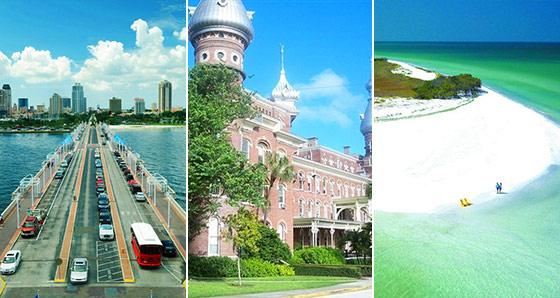 Tampa Sightseeing Tours and Vacation Packages from Miami Orlando – Tourist Attractions Map In Tampa