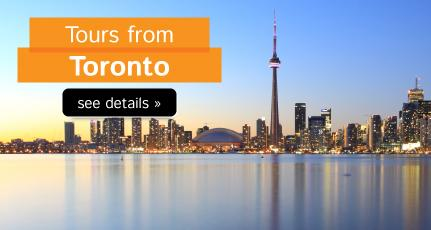 Popular Tours from Toronto
